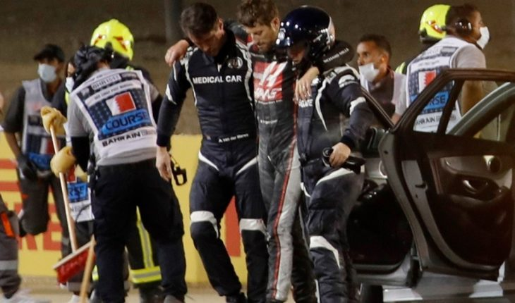 """Romain Grosjean: """"Getting out of the flames is something that will mark my life forever"""""""
