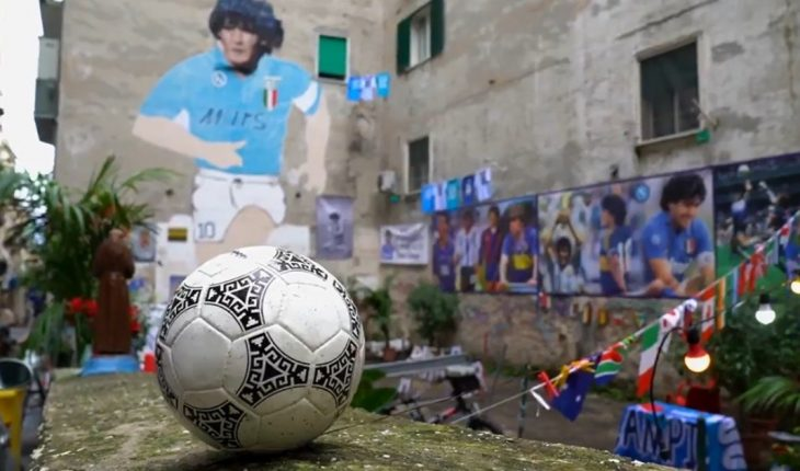 """""""Thank you for playing with me"""": Mexico's 'Azteca' 86 fired Maradona"""