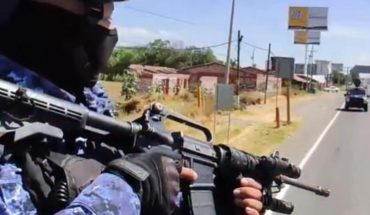 They capture 8 men in Guanajuato; they confiscate drugs and weapons