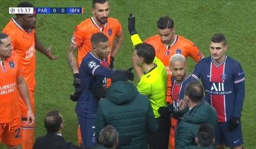 [VIDEO] Racist insult of the fourth referee ends in suspension of the match between PSG and Istanbul Basaksehir for the Champions League