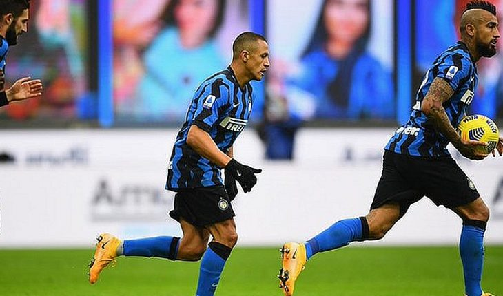 Vidal, Alexis and Medel were Inter's triumphal starters over Bologna