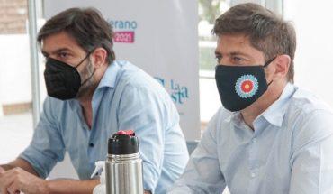 Axel Kicillof vuelve a reunirse con intendentes de la Costa Atlántica