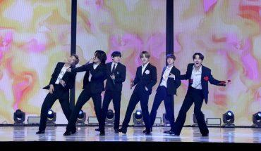 Bandas de k-pop brindaron un concierto para recibir el 2021 en Corea del Sur