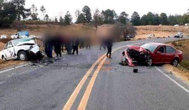 Choque de vehículos deja un muerto en la carretera Zitácuaro-Toluca