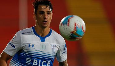 Con agónico gol de Zampedri la UC empató 1-1 ante Unión Española