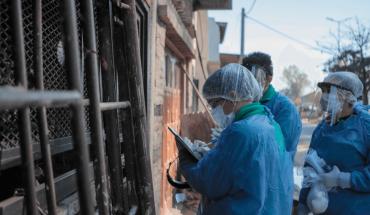 Coronavirus en Argentina: registraron 12.725 nuevos casos y 135 muertes