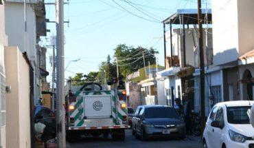 Corto circuito en Los Mochis moviliza a bomberos