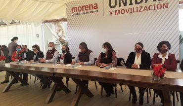 Ex aspirantes de candidatura de Morena dan apoyo a Raúl Morón