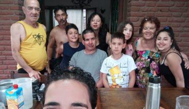 Fernando Cáceres recibió el alta y ya está en su casa