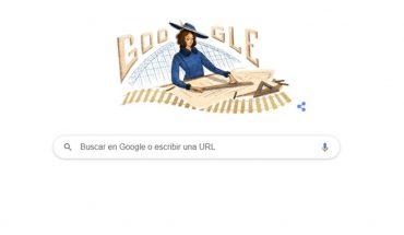 Google dedicó su Doodle a la ingeniera chilena Justicia Espada Acuña