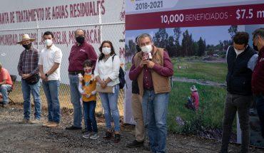 Invierte Gobierno de Morelia 20 mdp en saneamiento de agua y drenaje para Uruapilla