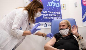 Israel: La aplicación de la primera dosis redujo los contagios en un 50%