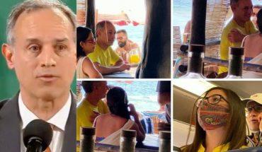 López Gatell evade cuestionamientos sobre sus vacaciones y arremete contra medios de comunicación (Video)