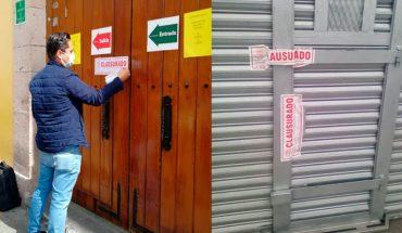 Por incumplir cierre, ayuntamiento de Morelia clausura 3 Elektras y un mini super