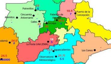 Pronóstico del clima del estado de Aguascalientes