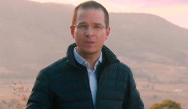 Ricardo Anaya anunció que buscará la presidencia en 2024 (Video)