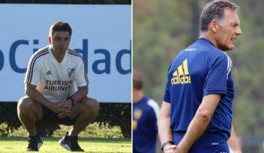 River-Boca: los convocados de Gallardo y el 11 que piensa Miguel Ángel Russo