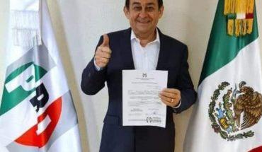 Víctor Godoy registra aspiración a diputado federal por el PRI