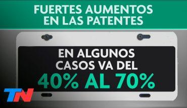 Aumentaron las patentes en la Ciudad: hay subas de hasta 100%