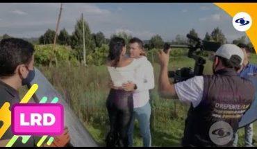 La Red: a cantante su esposa le armó escena de celos en grabación de video musical -Caracol TV