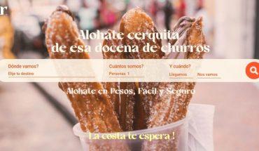 Alohar, a new platform for temporary accommodation in pesos