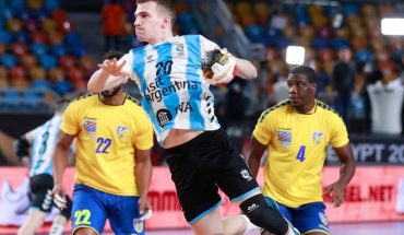 Argentina beat Congo on its debut at the 2021 Egyptian World Cup handball
