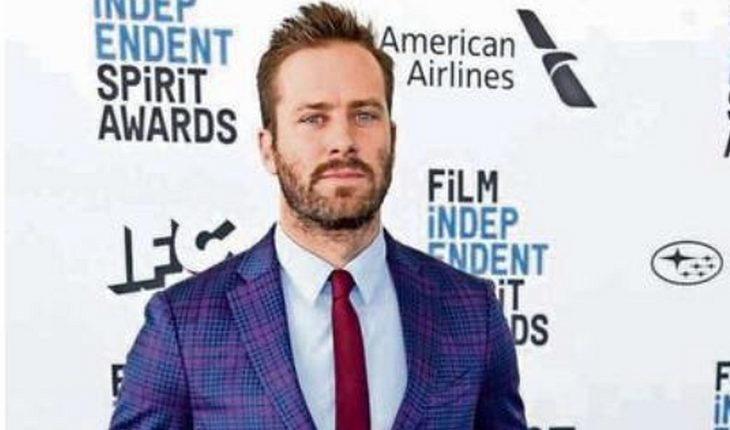 Armie Hammer leaves tape over accusations of cannibalism