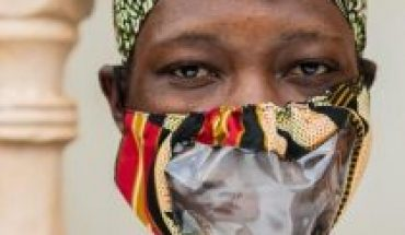 Coronavirus in Uganda: lip reading with sustainable masks