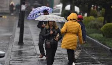 For this Sunday heavy rains in Puebla and Veracruz, cold environment prevails