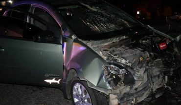 Heavy crash leaves three serious injuries in Los Mochis, Sinaloa