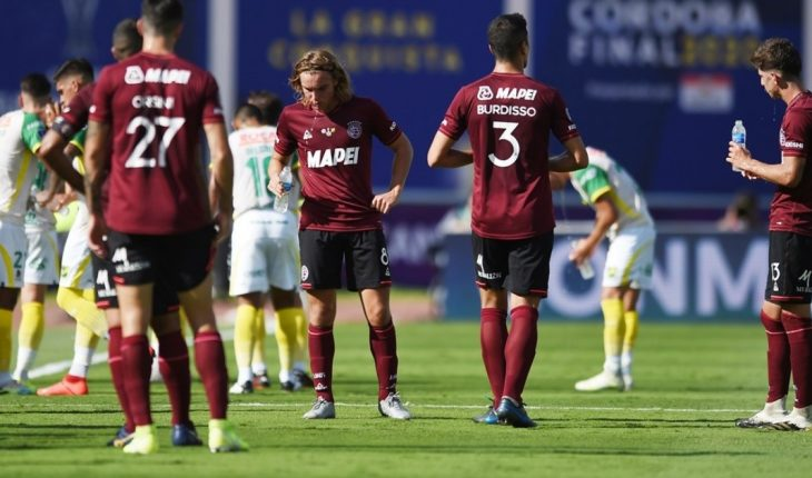 Lanús' message after defeat in the South American Cup final