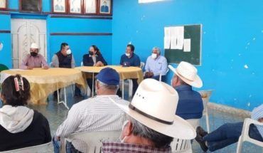 Protests take out to the peasant defense council in El Rosario