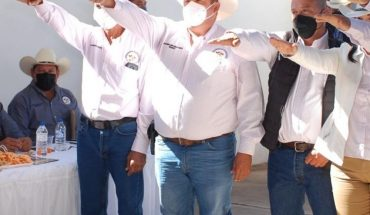 Salvador Alonso González Sánchez is the new leader of the Livestock
