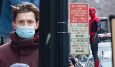 The first images from the Spider-Man 3 set were leaked