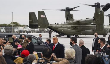 Trump thanks AMLO for soldiers to prevent migrants from entering