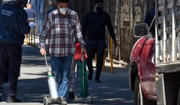 Warn of fraud in buying oxygen tanks online on CDMX