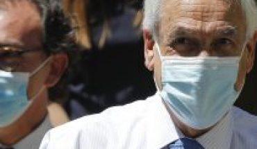 """A la espera que toquen el timbre: Presidente Piñera y ministro Figueroa piden que el retorno a clases """"sea protegiendo la salud de los niños"""""""