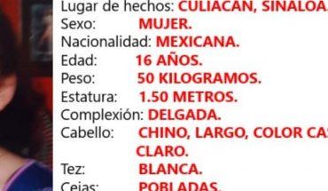 Activan Alerta Amber por Heidy, desapareció en Culiacán, Sinaloa