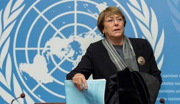 Bachelet hizo llamado a detener violaciones a los DD.HH. en Nicaragua