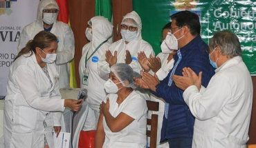 Bolivia comenzará inoculación masiva contra el covid-19 la próxima semana