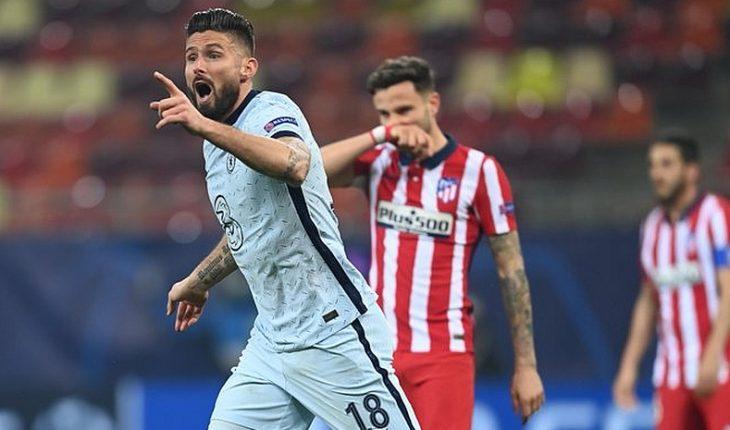 Chelsea derrotó por la cuenta mínima al Atlético de Madrid en los octavos de final de la Champions League