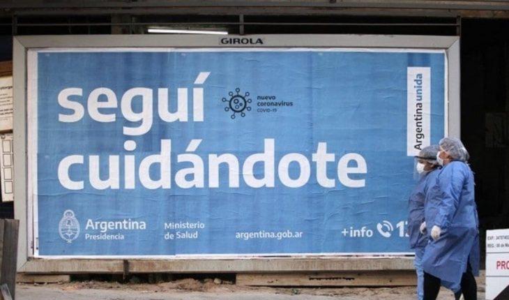 Coronavirus en Argentina: registraron 8.234 nuevos casos y 145 muertes