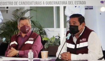 Félix Salgado se registra como candidato al gobierno de Guerrero