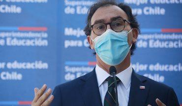 """Figueroa: """"Los colegios, tomándose las medidas sanitarias, no incurren en brotes"""""""