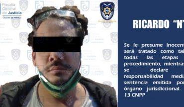 """Fiscalía en CDMX detuvo al youtuber """"Rix"""" por presunta tentativa de violación contra Nath Campos"""