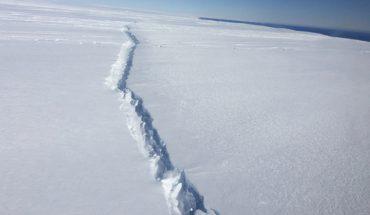 Iceberg del tamaño de Londres se desprendió en la Antártida