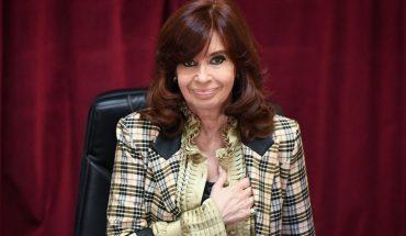 La vicepresidenta Cristina Fernández de Kirchner celebra su cumpleaños