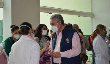 Líder sindical del IMSS exhorta a denunciar irregularidades en vacunación