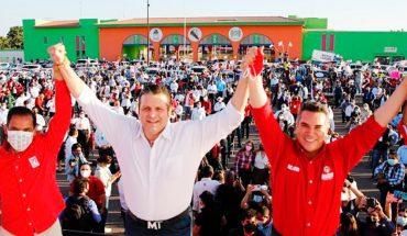 Mario Zamora protesta como candidato oficial por el PRI
