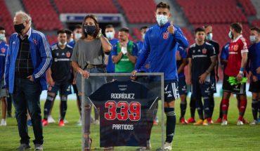"""Matías Rodríguez: """"Gracias por dejarme ser parte de la historia de la U"""""""